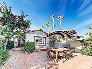 Historic 3BR on Balboa Island w/ Private Patio – Walk to Bay, Boardwalk