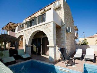 2 bedroom Villa in Kato Stalos, Crete, Greece : ref 5692916