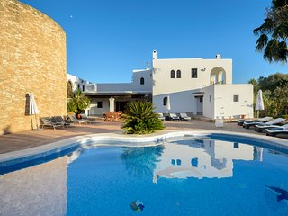7 bedroom Villa in Cala d'en Bou, Balearic Islands, Spain : ref 5691289