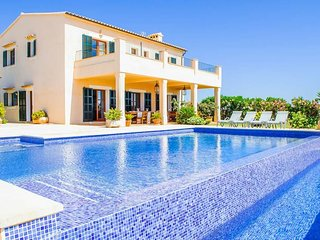 5 bedroom Villa in Cala Ferrera, Balearic Islands, Spain : ref 5692874