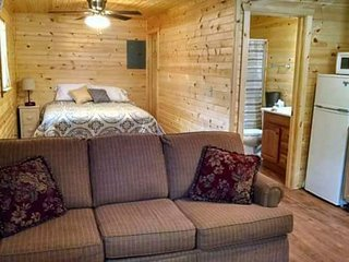 Kim's Cabins #3 - Comfy, quiet, modern new cabin sleeps 5