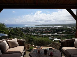 21LG Tamarin Sea View Stretch from Mountain Top to Horizon in Tamarin Mauritius
