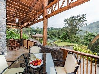Villa Lago at Peace Lodge and La Paz Waterfall Gardens