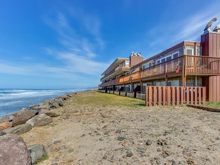 NEW LISTING! Oceanfront condo with easy beach access and amazing views!