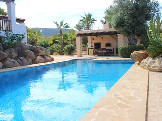 Spacious villa in Sant Josep de sa Talaia with Parking, Internet, Washing machin