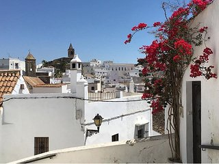 Cosy studio in the center of Vejer de la Frontera with Parking, Washing machine