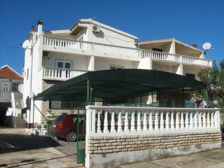 Spacious apartment in the center of Tribunj with Parking, Internet, Air conditio
