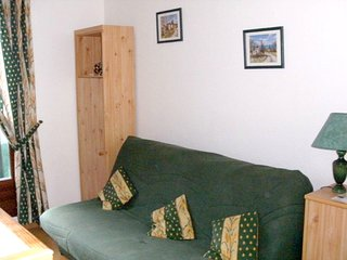 Cosy studio in Canet-en-Roussillon with Parking, Balcony