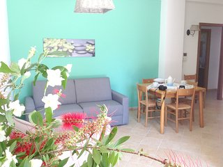 Cozy apartment in Valderice with Parking, Internet, Washing machine, Air conditi