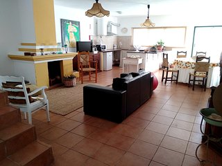 Spacious house in Pedrogão with Parking, Internet, Washing machine, Air conditio