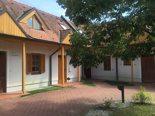 Cozy apartment close to the center of Moravske Toplice with Parking, Internet, T