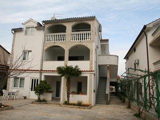 Spacious apartment close to the center of Vodice with Parking, Internet, Air con