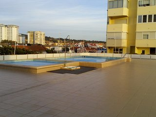 Cozy apartment in the center of Costa da Caparica with Parking, Washing machine,