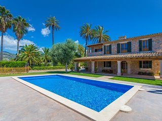 Spacious villa in Palma with Parking, Internet, Washing machine, Air conditionin