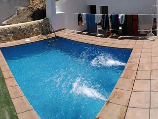 Spacious villa in Villatoya with Parking, Internet, Washing machine, Pool