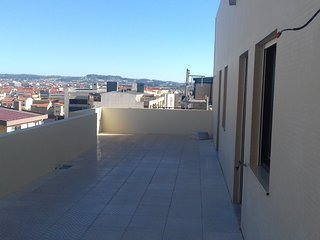 Spacious apartment close to the center of Povoa de Varzim with Parking, Washing