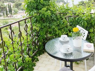 Spacious apartment in the center of Maslinica with Parking, Internet, Air condit