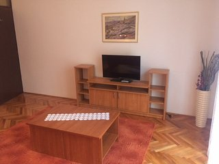 Cozy apartment in the center of Pag with Parking, Internet, Air conditioning, Te