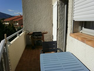 Cosy studio in the center of Vernet-les-Bains with Lift, Parking, Washing machin