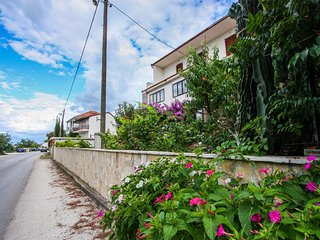 Cozy apartment in Arbanija with Parking, Internet, Air conditioning, Balcony
