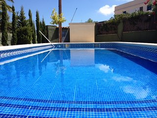 Spacious house in the center of L'Ampolla with Parking, Washing machine, Pool, B