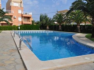 Spacious apartment in Dénia with Parking, Internet, Washing machine, Pool