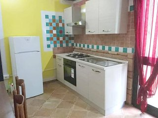 Cozy apartment in the center of Santa Maria Coghinas with Parking, Internet, Air