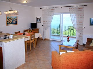 Spacious apartment in the center of Cavtat with Parking, Internet, Washing machi