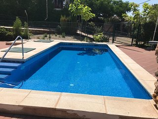 Spacious house in Ruidera with Parking, Washing machine, Air conditioning, Pool