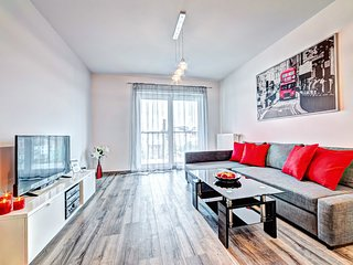 Spacious apartment in the center of Poznan with Lift, Parking, Internet, Washing