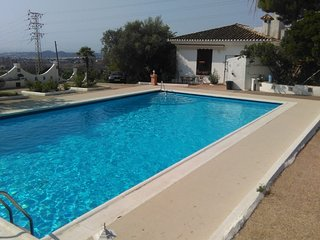 Spacious villa in Mijas with Parking, Washing machine, Pool, Terrace