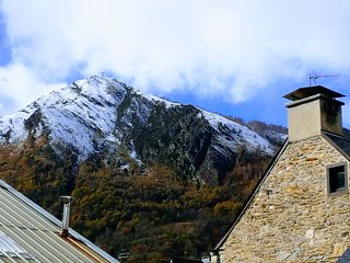 Cozy apartment in the center of Saint-Lary-Soulan with Parking, Internet, Washin