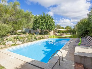 Spacious villa in Sant Llorenç des Cardassar with Parking, Internet, Washing mac