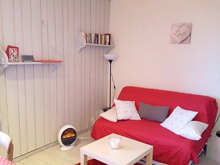 Cosy studio close to the center of Uvernet-Fours with Parking, Terrace
