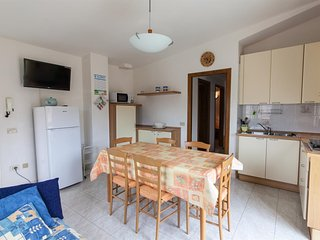 Spacious apartment in Villasimius with Internet, Washing machine, Terrace