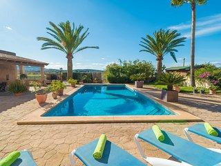 Spacious villa in Felanitx with Parking, Internet, Washing machine, Pool