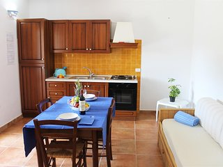 Cozy apartment in the center of Tanaunella with Air conditioning, Pool, Terrace