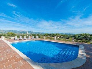 Spacious villa in Selva with Parking, Internet, Washing machine, Air conditionin