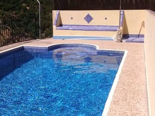 Cozy villa in Yunquera with Parking, Internet, Washing machine, Air conditioning