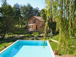 Spacious villa in Sourzac with Parking, Internet, Pool, Garden
