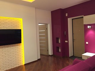 Cozy apartment in the center of Dnepropetrovsk with Parking, Internet, Washing m