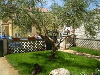 Spacious apartment in the center of Zambratija with Parking, Internet, Air condi