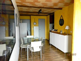 Cozy apartment in the center of Les Angles with Parking, Washing machine