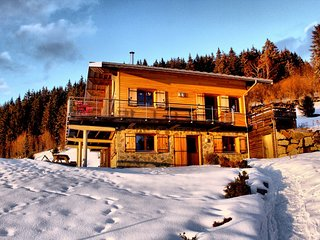 Spacious apartment close to the center of Gerardmer with Parking, Internet, Wash