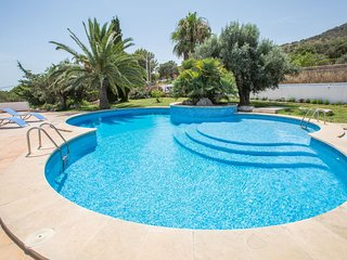 Spacious villa in Sant Llorenc des Cardassar with Parking, Internet, Washing mac