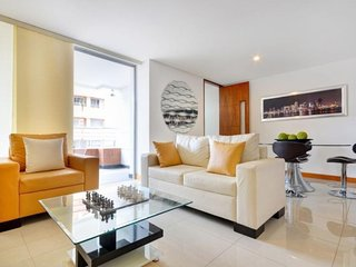 Spacious apartment in Medellin with Balcony