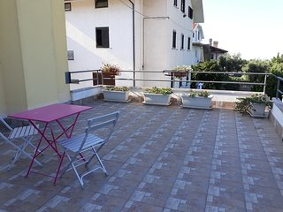 Cosy studio in Tollo with Parking, Internet, Balcony, Garden
