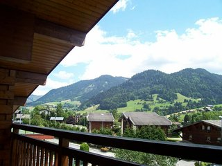 Cosy studio in the center of Praz-sur-Arly with Parking, Washing machine, Balcon