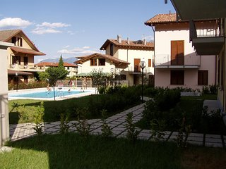 Cosy studio in Domaso with Internet, Washing machine, Pool, Terrace