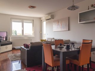 Spacious apartment in Zagreb with Lift, Internet, Washing machine, Air condition